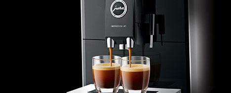 Dwie kawy po naciśnięciu jednego przycisku - JURA Impressa A5 One Touch