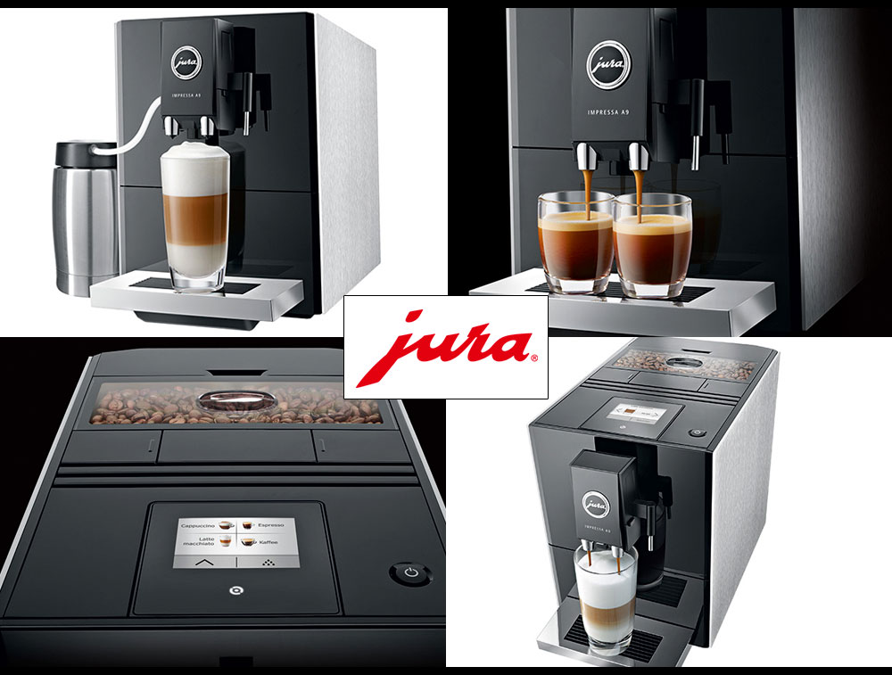 Ekspres do kawy JURA Impressa A9 Platin