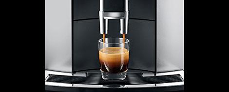 Jura E6 parzy espresso na najwyższym poziomie