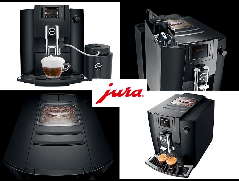 Nowoczesny ekspres do kawy Jura E60