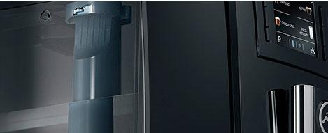 Jura E60 bezprzewodowo wykrywa filtr wody
