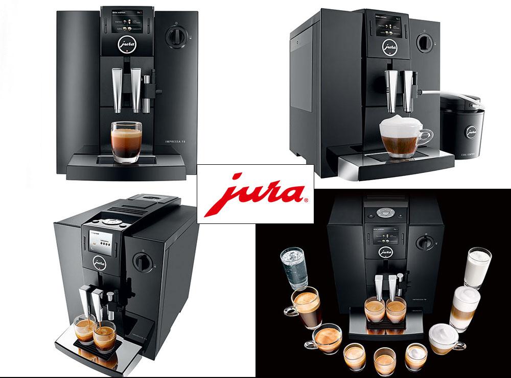 Automatyczny ekspres do kawy JURA Impressa F8