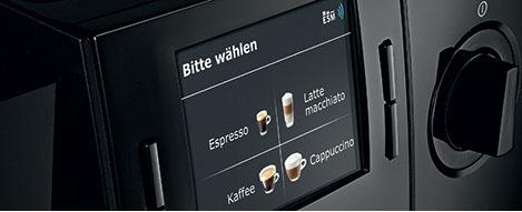 Szeroki wybór napojów kawowych - ekspres JURA Impressa F8