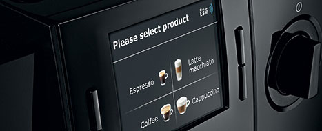 Jura F85 pozwala na przygotowanie szerokiej gamy specjałów kawowych