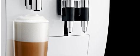 Jura J85 posiada nowoczesną technologię mlecznej pianki