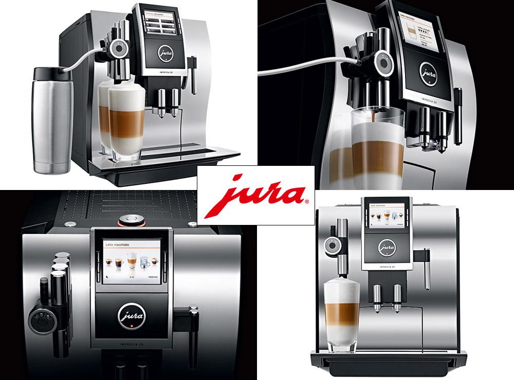 Ekspres JURA Impressa Z9 One Touch TFT Aluminium