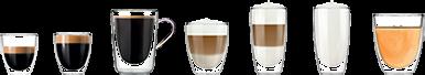 szeroka gama specjałów kawowych