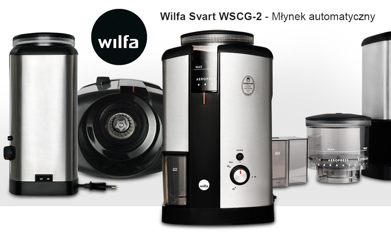 Automatyczny młynek do kawy Wilfa Svart