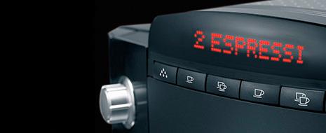 Prosta i intuicyjna obsługa ekspresu Jura Xf50